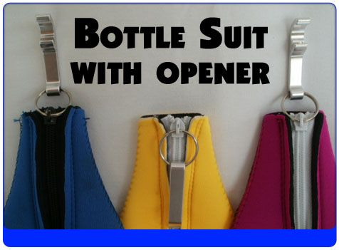 Bottle Suit with Opener
