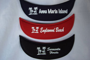 Florida Cities Eyeglass Visor