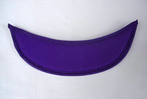 Purple Eyeglass Visor