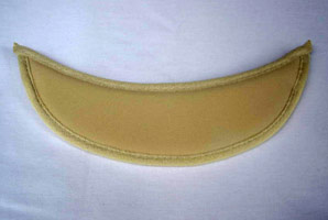 Tan Eyeglass Visor